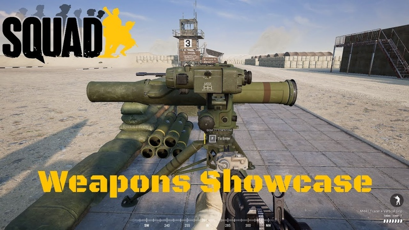 Squad Weapons Showcase ALL Emplacement Weapons 2020