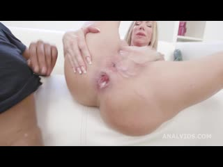 [ / ] Balls Deep, Lara De Santis Vs Dylan Brown, Balls Deep Anal, Gapes, Creampie Swallow, Squirting