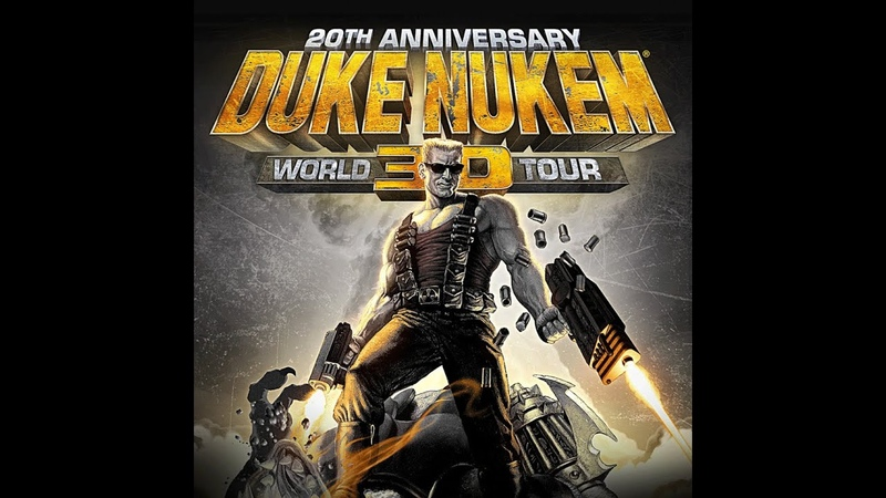 Duke Nukem 3D 20th Anniversary World Tour E4M9 Прохождение на Выкуси