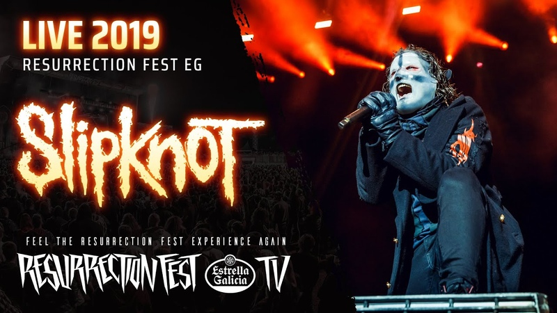 Slipknot Live at Resurrection Fest EG 2019 Viveiro Spain Pro Shot Full Show