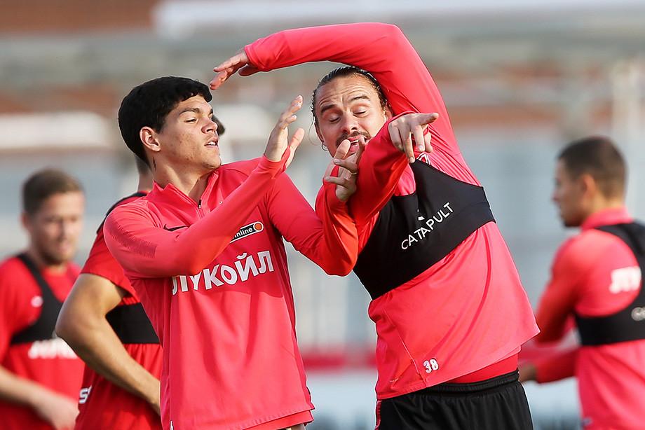 Андрей Ещенко и Аиртон, ФК Спартак Москва
