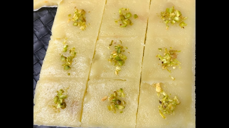 Badam Burfi   Almond Burfi Recipe   Badam Katli   Indian Traditional Sweet