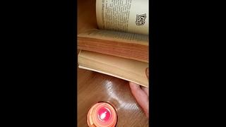 АСМР Сказы Бажова🔥Огневушка-поскакушка/2 часть🌌Reading and flipping a book/Чтение тихим голосом🌝