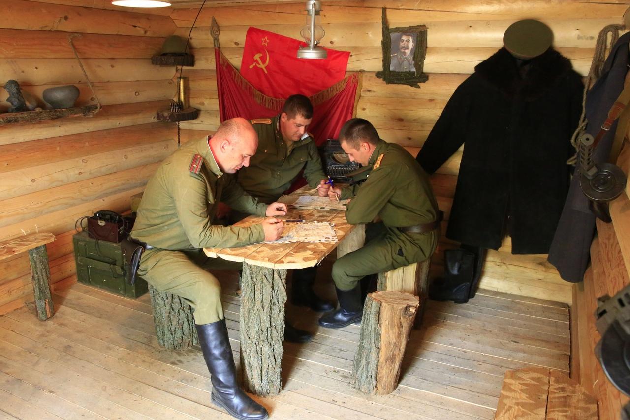 Партизанская деревня станет частью экспозиции парка «Патриот» на Самбекских высотах под Таганрогом