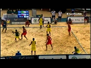 Handebol de Areia | Beach Handball: BRA x RUS World Games 2013 Final - TV Esporte Interativo