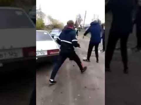 Реальные пацаны Драка с Полицейскими
