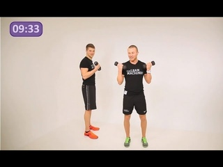 Arms 10 Minute Workout | The Lean Machines | Tonic