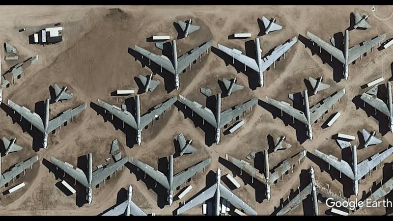 Более 4400 самолетов и сорок космических кораблей