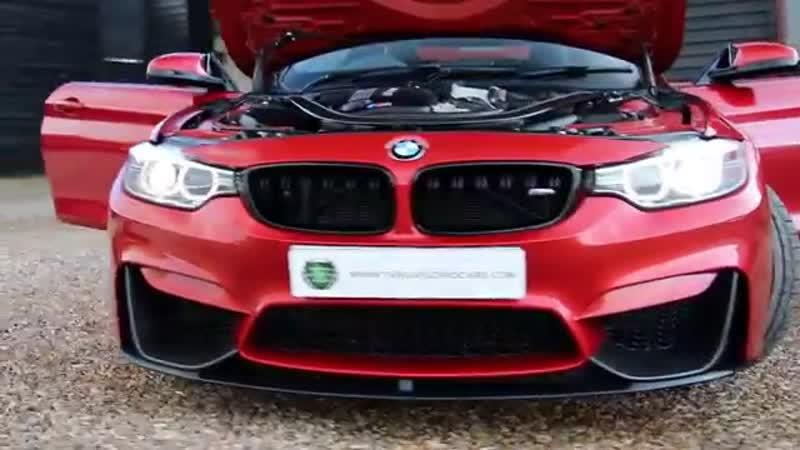 BMW M4 2dr 3 0 TwinTurbo Manual Coupe in Sakhir Orange 2014