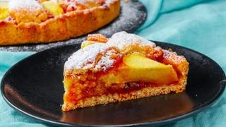 Тарт в тарте! Королевский пирог с яблоками и абрикосовым джемом - готовлю его впервые
