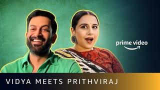 Vidya Balan Meets Prithviraj Sukumaran   Sherni   Cold Case   Amazon Prime Video
