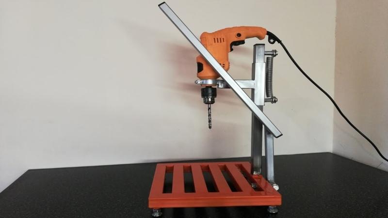 Стойка для дрели Homemade Drill press
