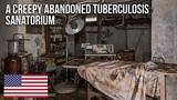 Urbex Scared kids in an abandoned horror Sanatorium