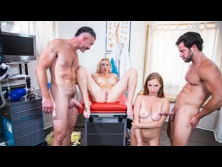 Skylar Snow, Paisley Porter -  Fertility Clinic Vol 1 E3 ( Blonde, Blowjob, Handjob, Uniform, Cumshot, Cum on Tits, Creampie)