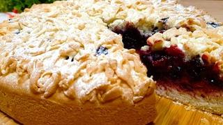 Тёртый Пирог - Не Поверите, Но Он Постный! Рецепт из детства Простой и Вкусный Песочный Пирог к чаю