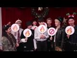 171211 BTS play Holiday Hot or Not @ Radio Disney