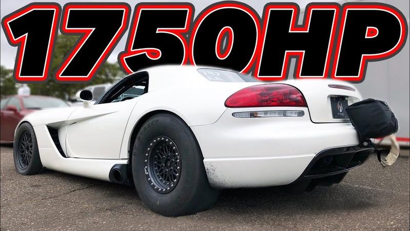 Turbo BUSA vs Turbo Viper NO PREP Drag Races Drifting MORE