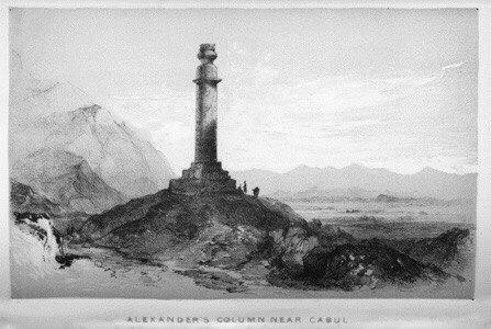 БАШНЯ АЛЕКСАНДРА МАКЕДОНСКОГО Это сооружение высотой в 28,5 метров в районе Кабула советские солдаты прозвали башней Александра Македонского.Но она была много моложе великого завоевателя -