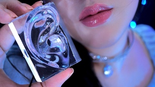 ASMR This is Crystal Clear Tingles! 😍👂💎(Earhole Massage, Nice Close Ear Triggers, Water sounds, 4K)