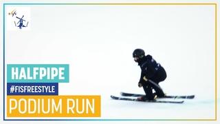 Brendan Mackay   2nd place   Men's Halfpipe   Aspen   FIS Freestyle Skiing