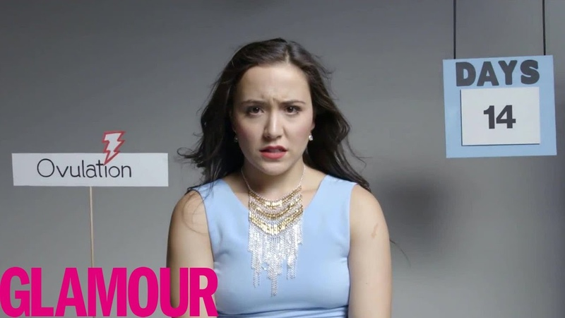 This is Your Period in 2 Minutes Glamour