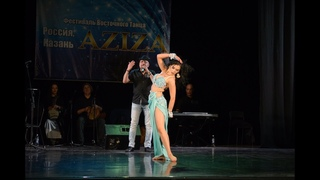 "Ekaterina Verbovaya WINNER of "" Aziza festival's crown"" 2018/ Al Azdekaa"