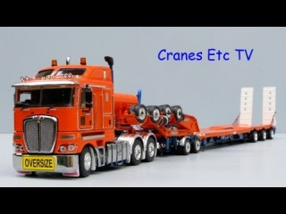 Cranes Etc TV: TWH Kenworth K200 + Drake 3x8 Swingwing Trailer and 2x8 Dolly Review