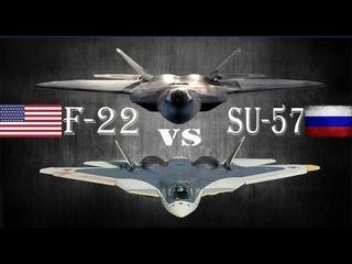 Su-57 Vs F-22 Raptor 2019