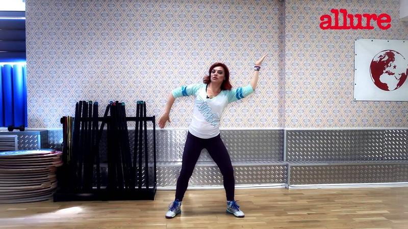 Уроки Zumba Fitness базовые шаги