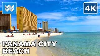 [4K] Panama City Beach, Florida USA - 2021 Spring Break Walking Tour & Travel Guide 🎧 Binaural Sound