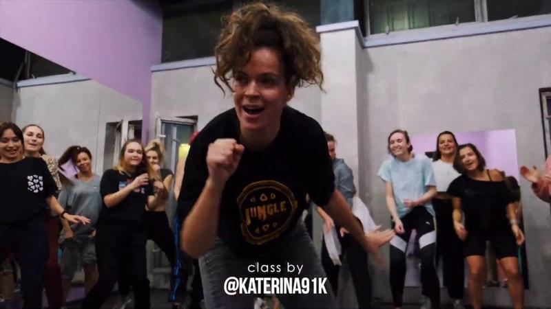 YEMI ALADE VIBE Challenge Katerina Troitskaya Dancehall Funk