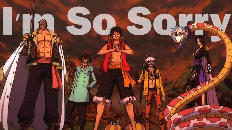 One Piece Stampede I'm So Sorry