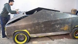 Cybertruck из ВАЗ 2106. Подготовка к зиме. Зимний кузов как у Кибертрак