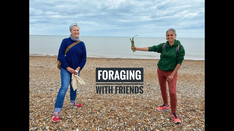 My first FORAGE Foraging for wild food cookwithme withme Food with Chetna