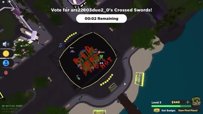 Red Cat 12 Как получить ДВЕНАДЦАТЫЙ БЕЙДЖ в РБ БАТЛ ИВЕНТЕ Роблокс RB Battles roblox Build Battle