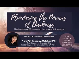 Dr. Michelle Corral  Plundering the Powers of Darkness