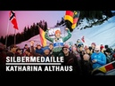 Katharina Althaus springt zur Silbermedaille l Seefeld 2019