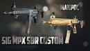 Макрос на SIG MPX SBR Custom сэнс 20 прицел 2 0